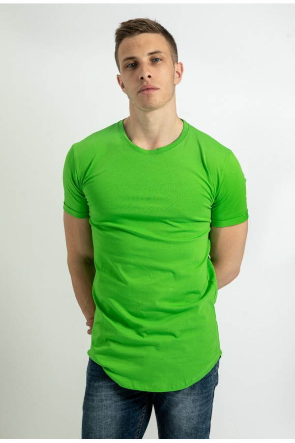 T-shirt basique vert fluo - frilivin